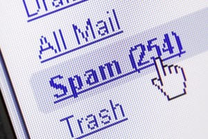 check if junk email is spam